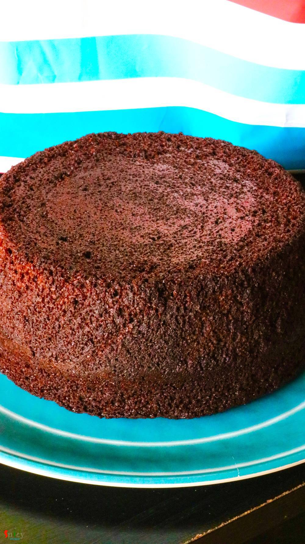 Cooking Step: Basic Chocolate Cake