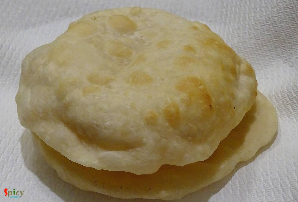 Bhatura (with Yeast)