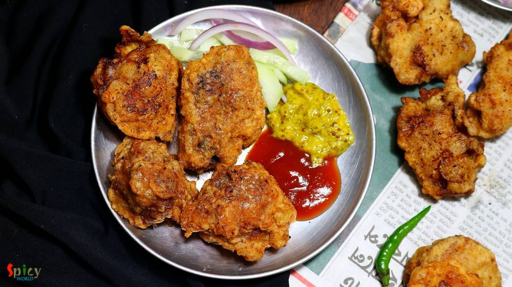 Chicken Pokora (Pakora) / Chicken Fritters