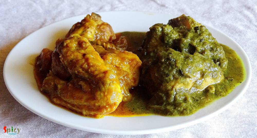 Chicken do Rangeela / Double colored Chicken