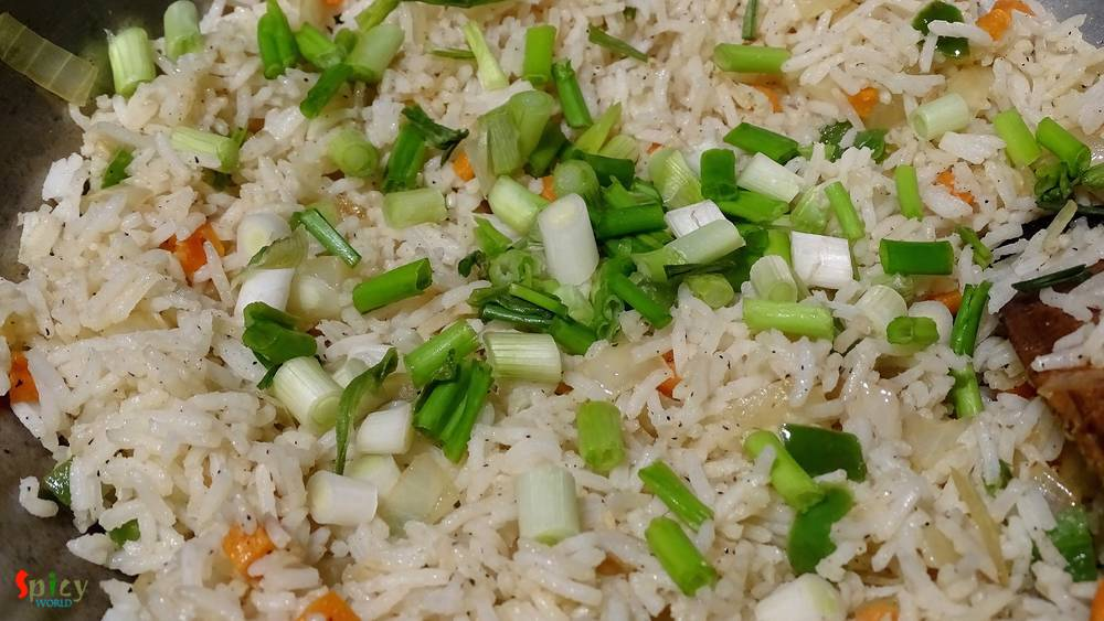 Cooking Step: Chinese (style) Fried Rice