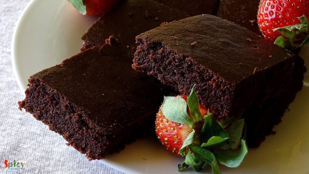 Cooking Step: Chocolate Cake Squares (Vegan)