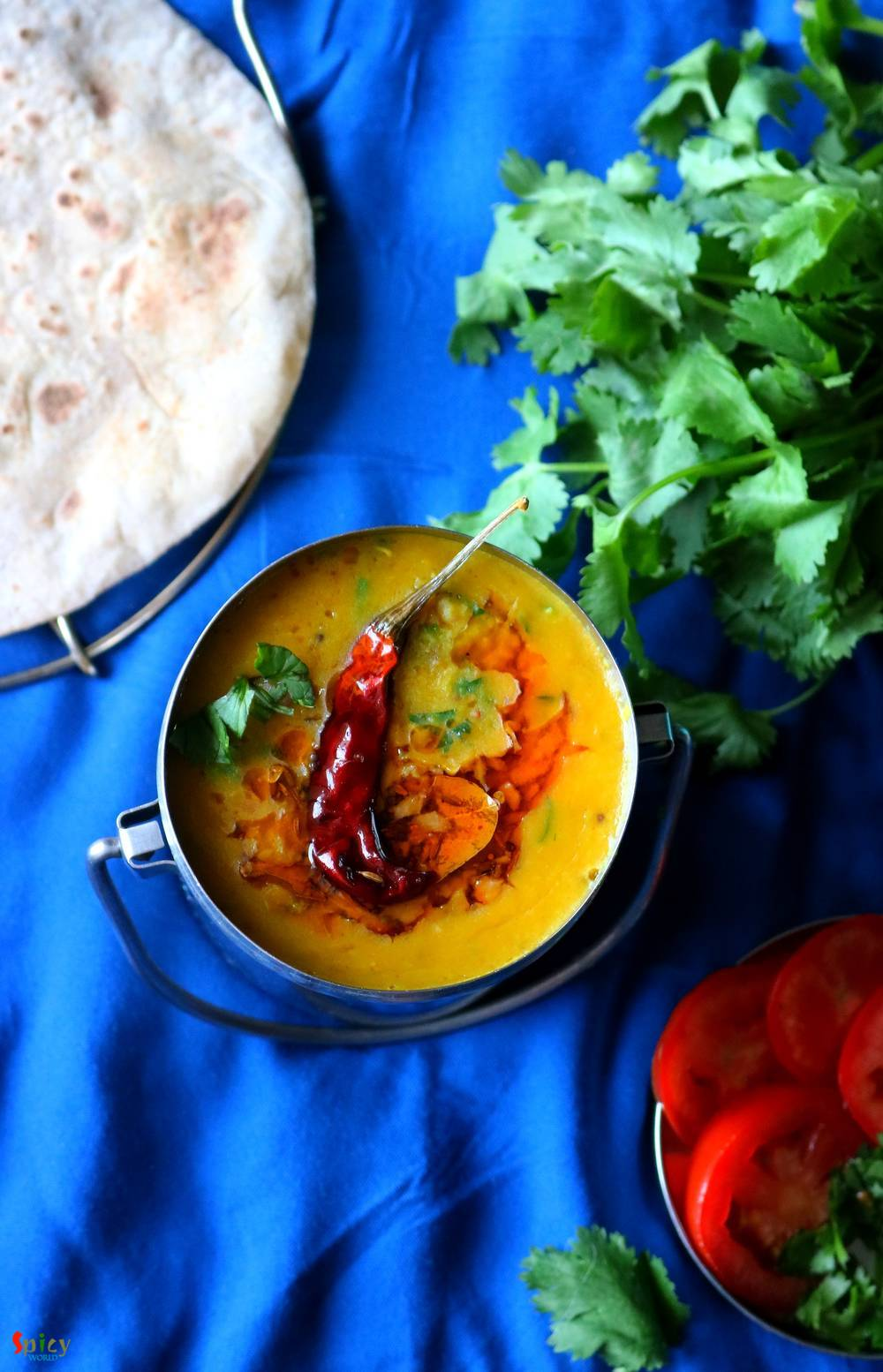 Daal Fry / Lentil soup with spicy Tempering