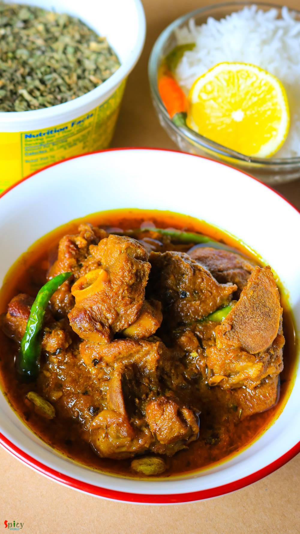 Cooking Step: Dhaba style Mutton curry
