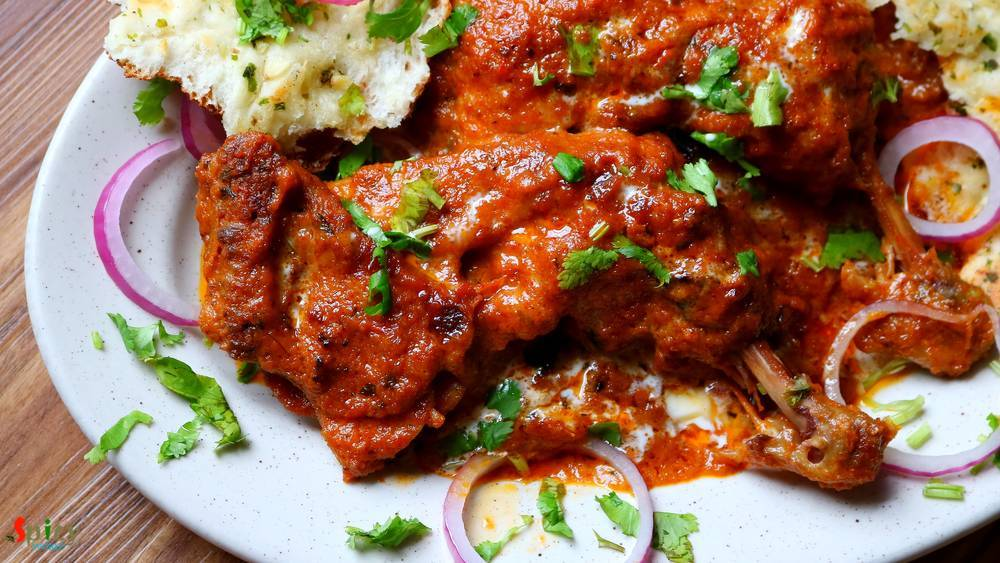 Dhaba style Butter Chicken / Murg Makhni