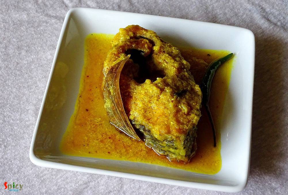 Fish curry with yogurt / Doi Maach