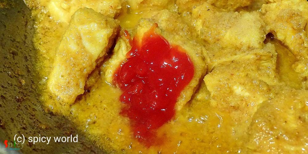 Cooking Step: Sukha Chicken (Dry Chicken Curry)