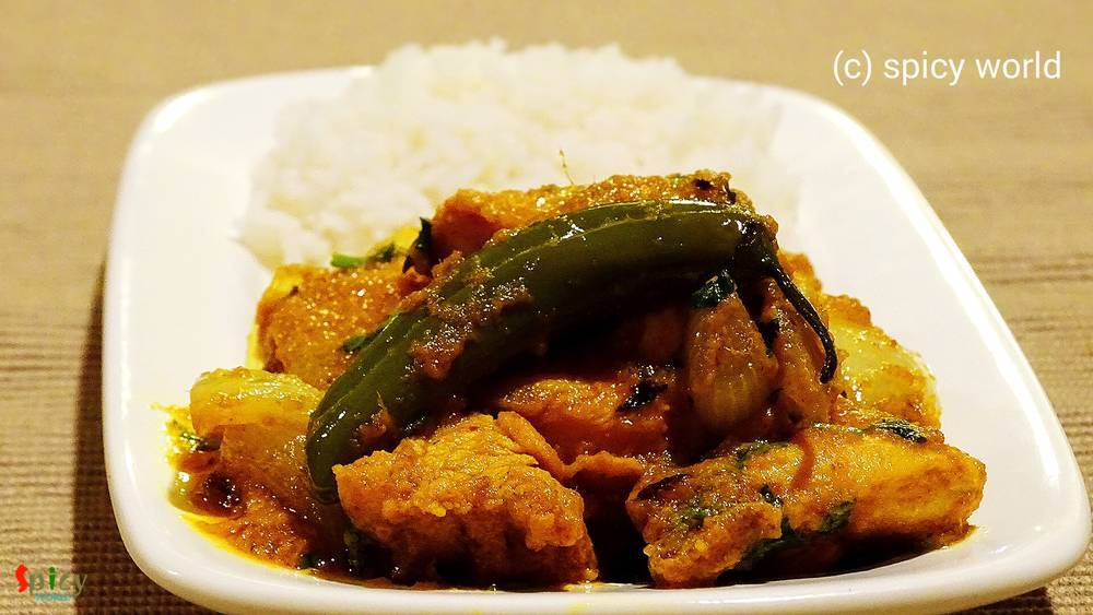 Sukha Chicken (Dry Chicken Curry)