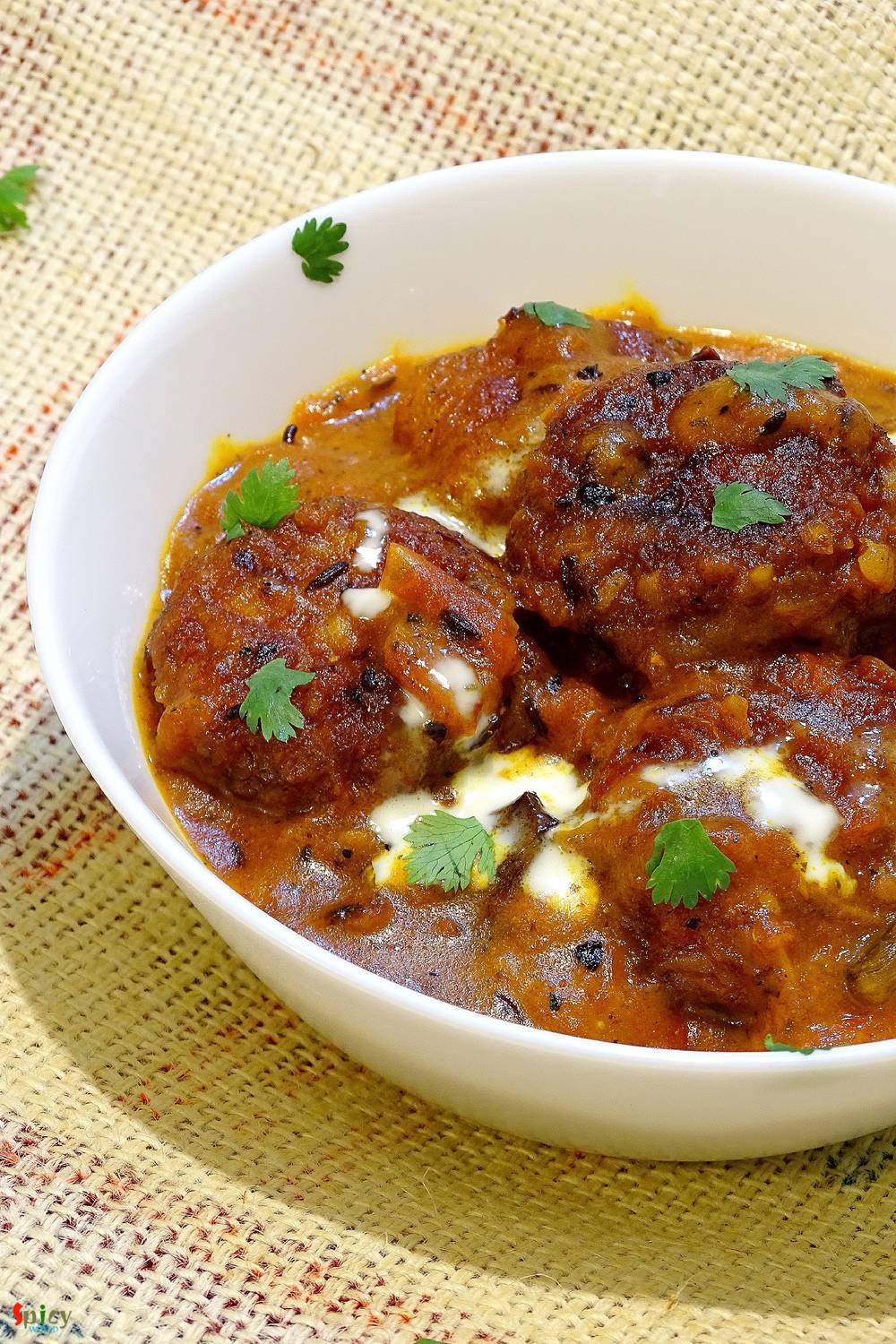 Fish ball Curry / Macher Kofta Curry