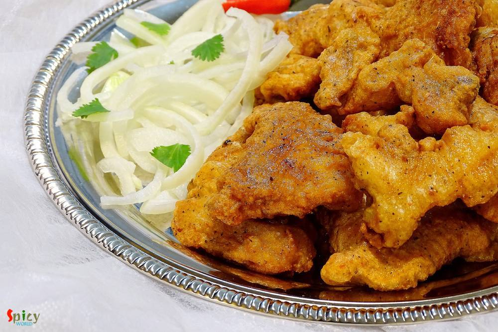 Fish Pakora / Deep fried Fish Nuggets