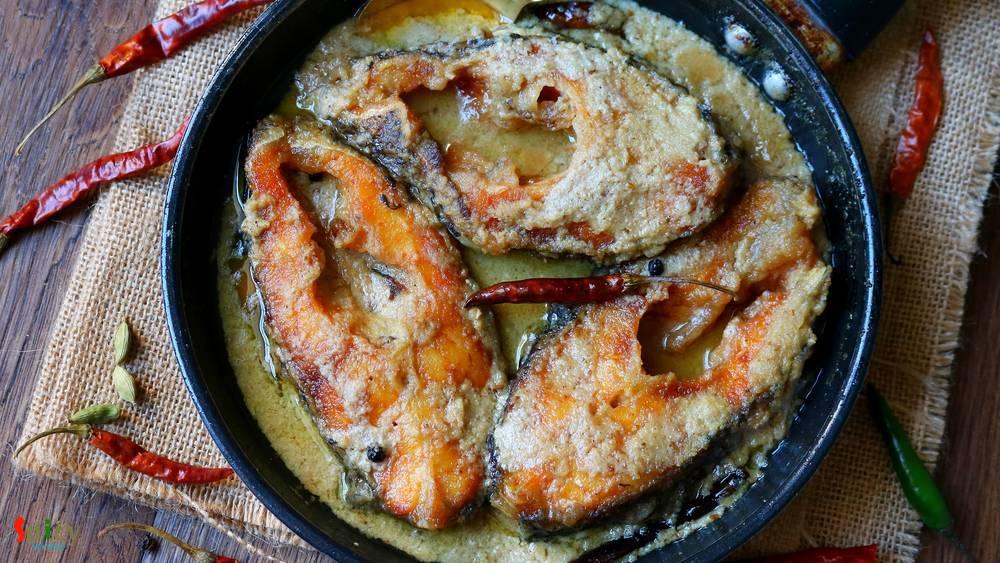 pure bengali chicken rezala recipe