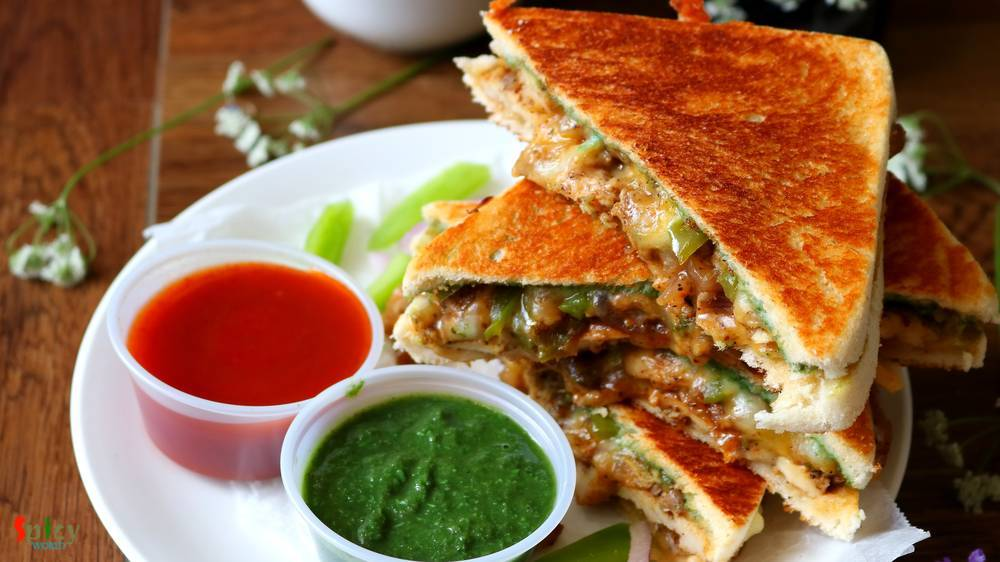 Grilled Chicken & Cheese Sandwich