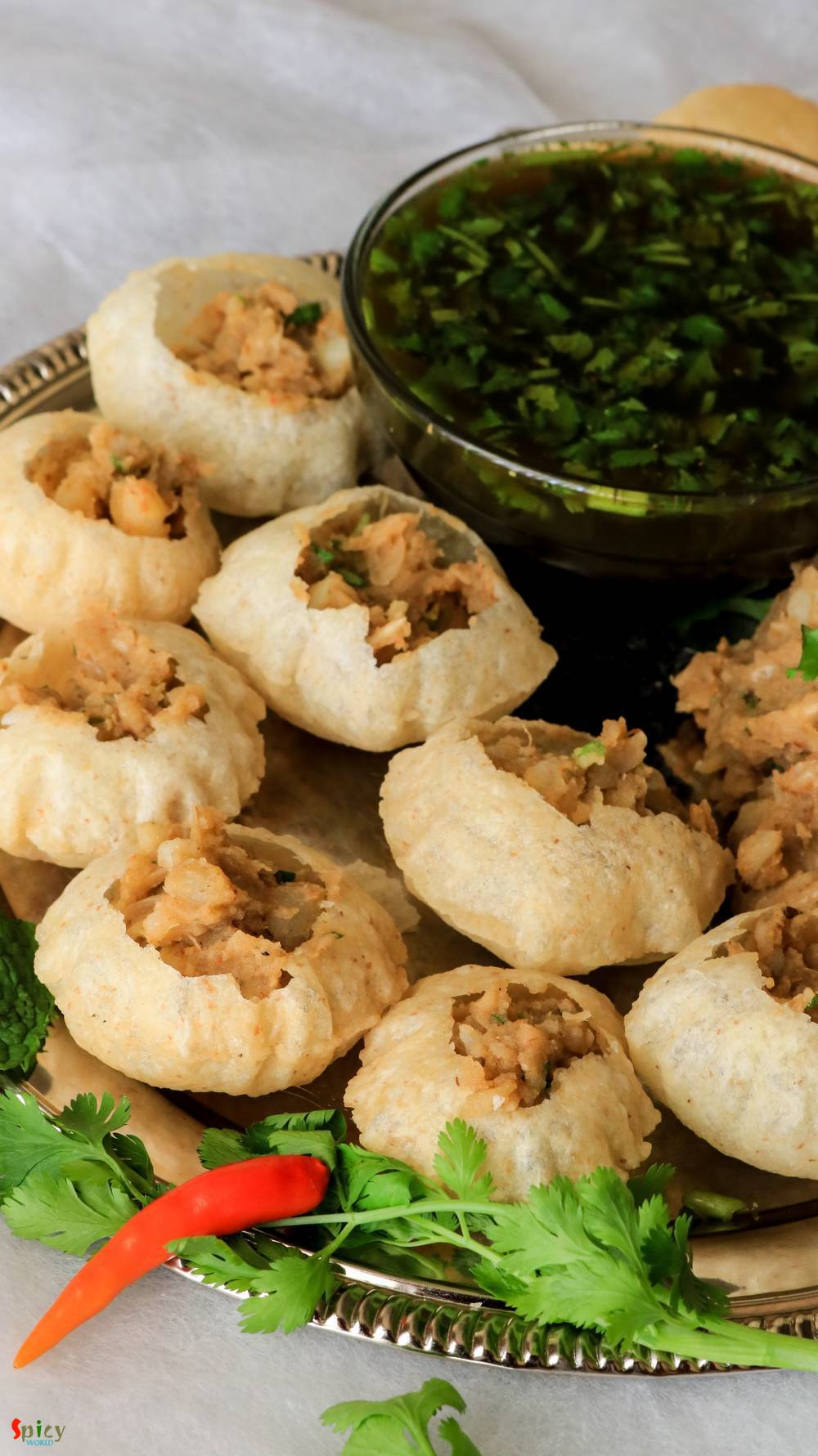Cooking Step: Panipuri / Phuchka / Golgappa