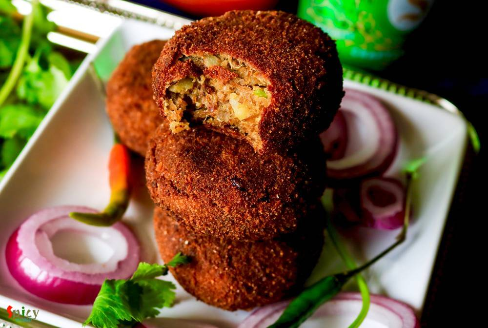 Image result for Spicy Mutton Cutlet