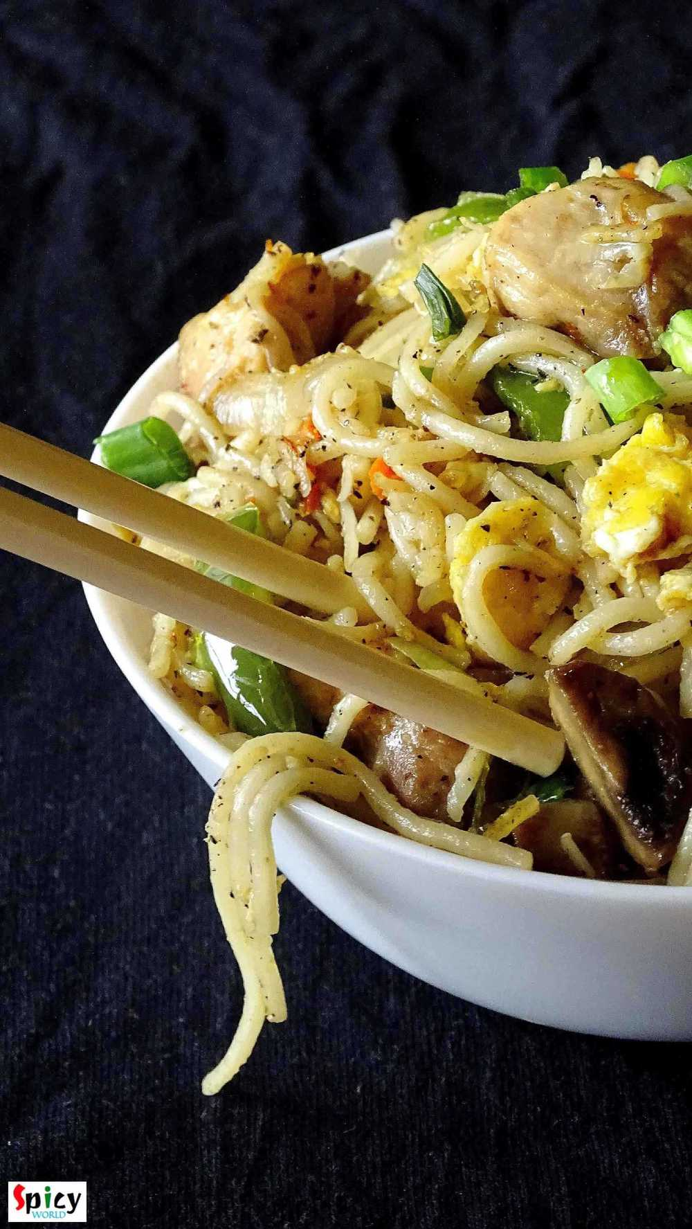 Mix Hakka Noodles / Mix Chowmin