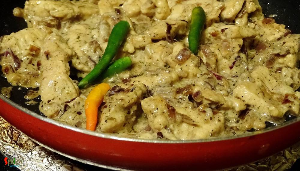 Cooking Step: Murgh Methi Malai / Chicken cooked in creamy Fenugreek flavoured sauce