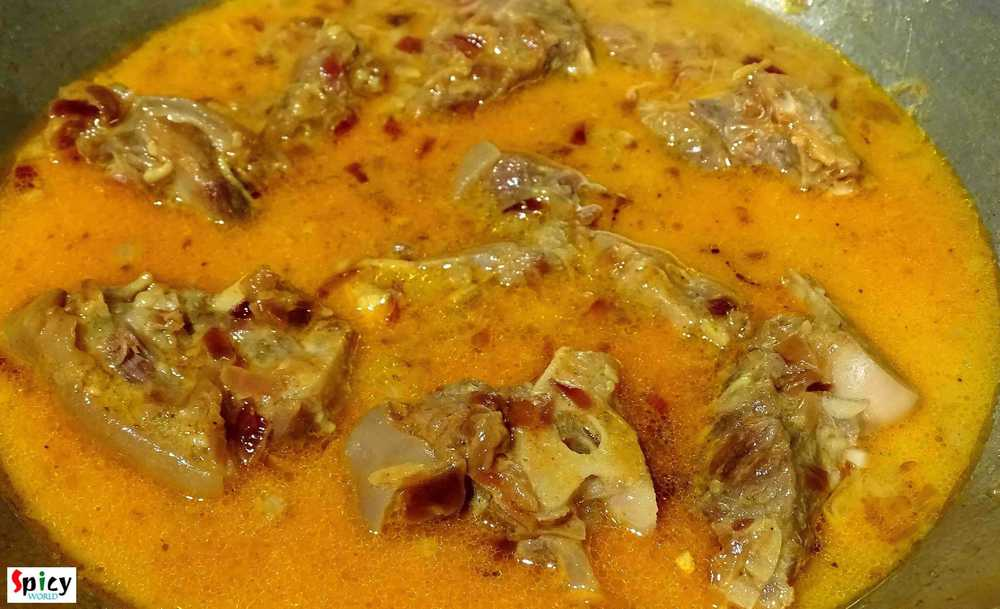 Cooking Step: Mutton Dopyaza / Mutton curry with double onion