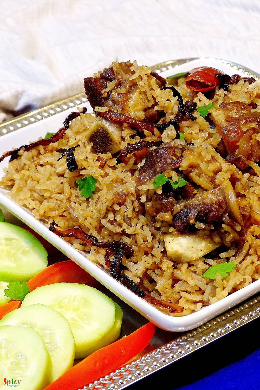 Mutton Pulao / Yakhni Pulao - Spicy World by Arpita
