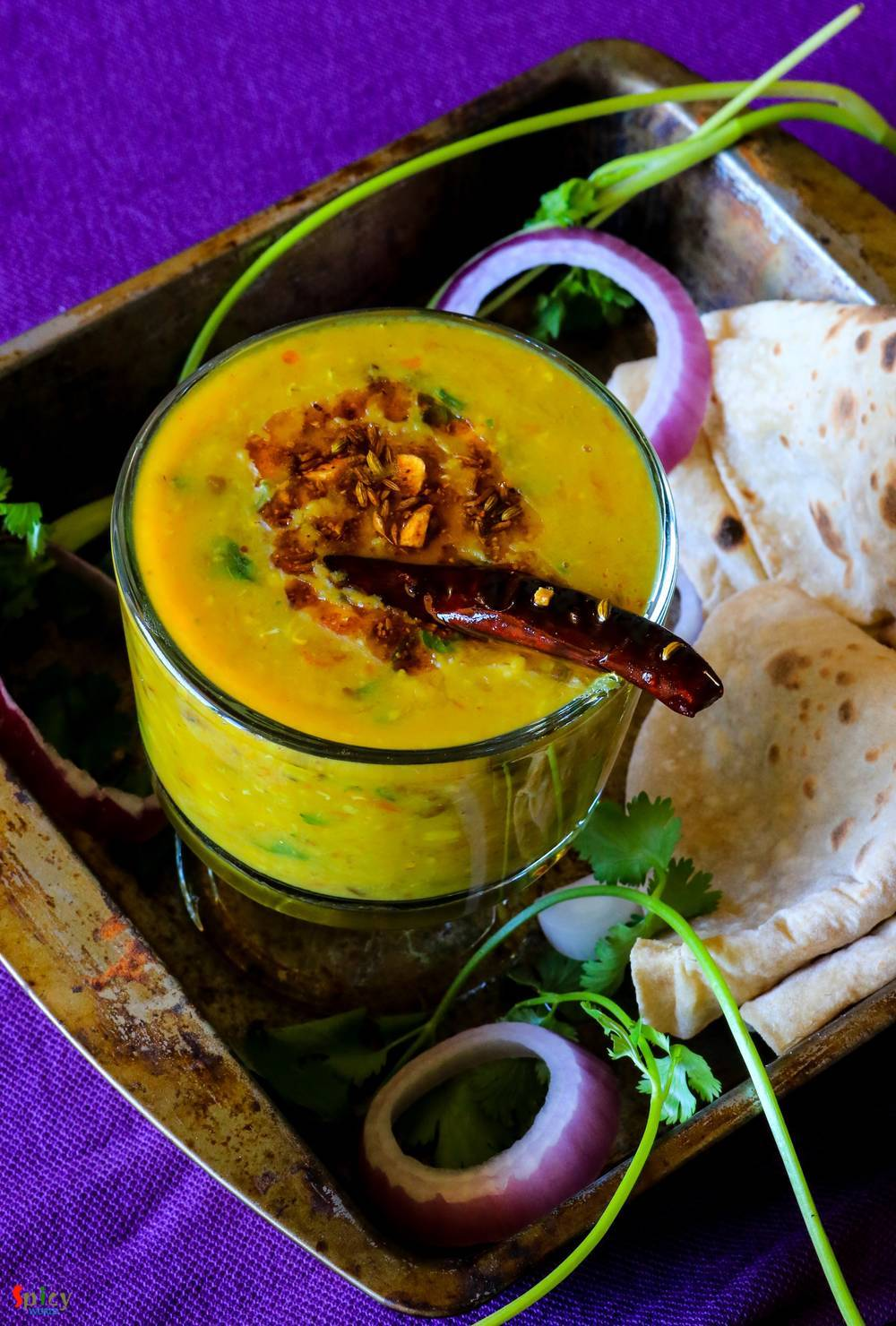 Cooking Step: Panchmel Daal / Soup of Five lentils / Panchratan Daal