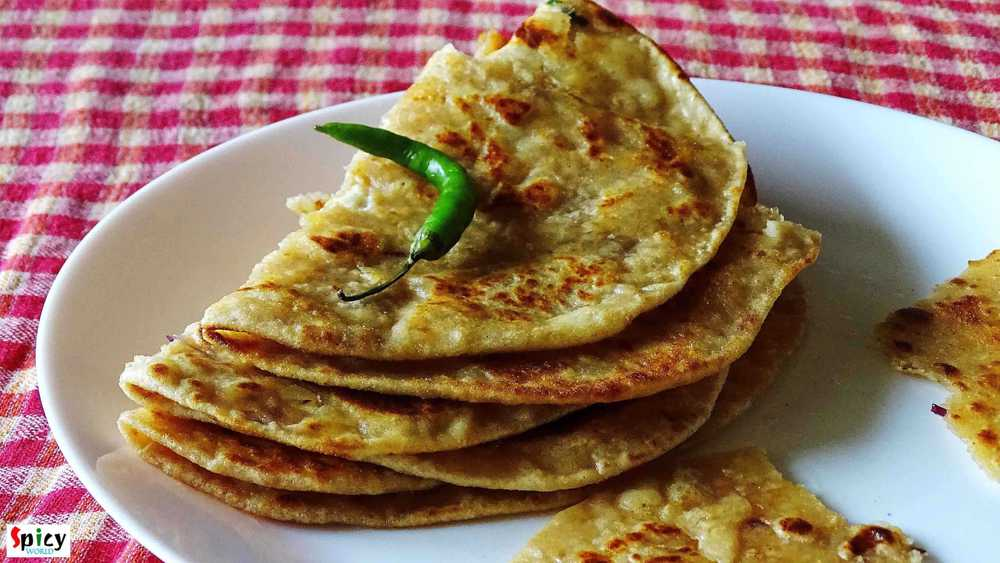 Cooking Step: Paneer Paratha / Cottage Cheese Bread