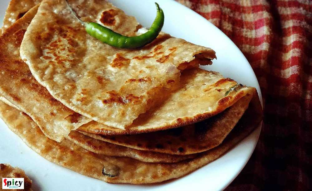 Paneer Paratha / Cottage Cheese Bread