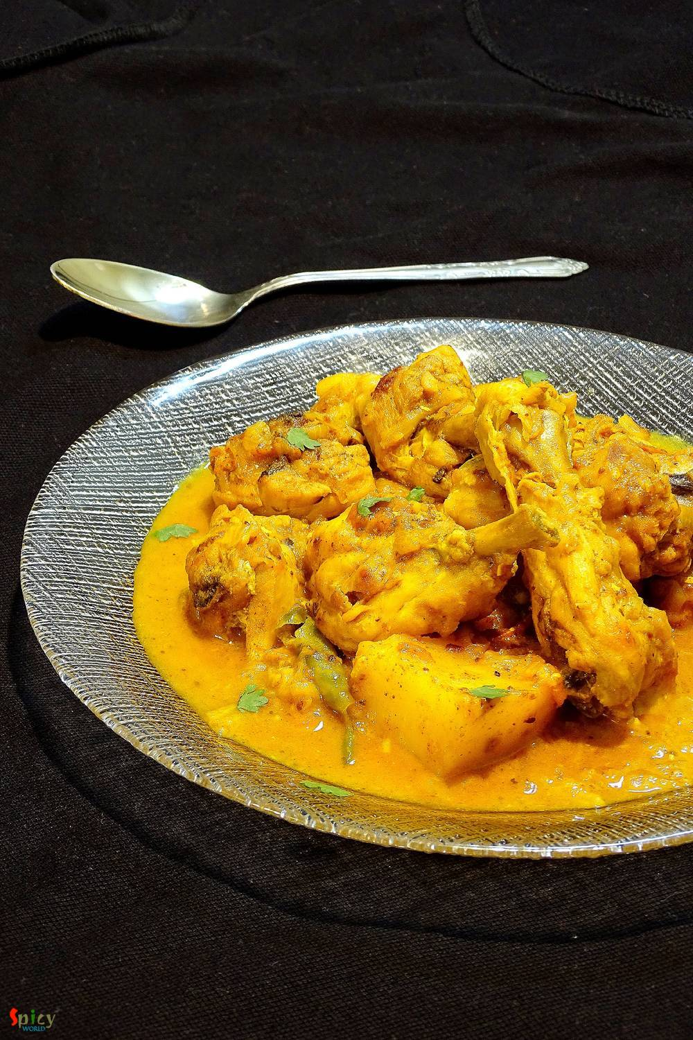 Rustic Chicken Curry / Village style Chicken curry