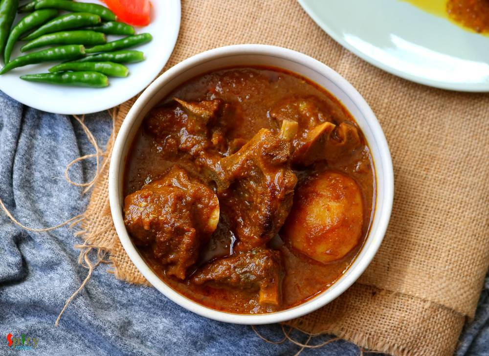 Sunday Mutton Curry