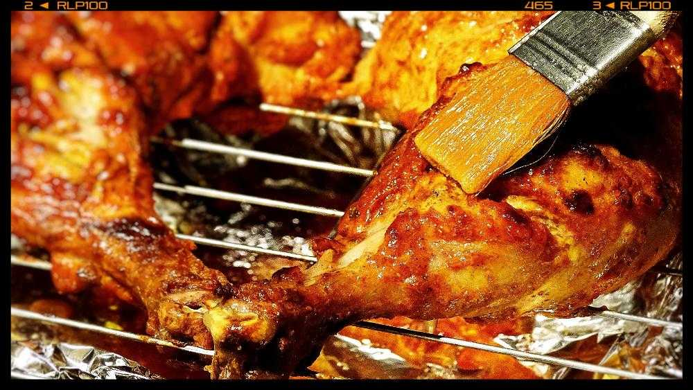 Cooking Step: Tandoori Chicken