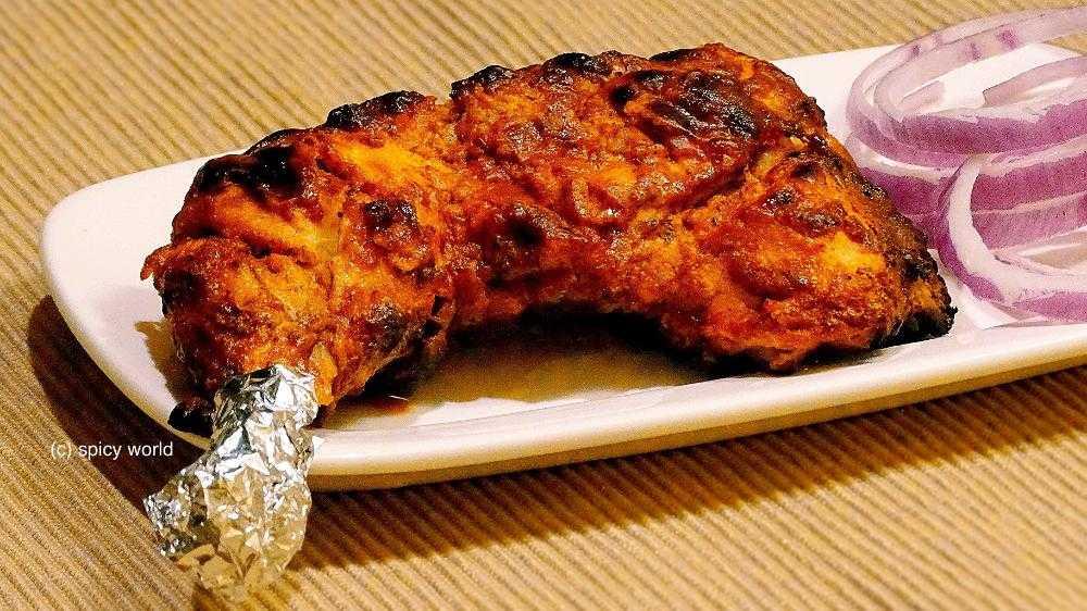how to prepare chicken tandoori masala at home
