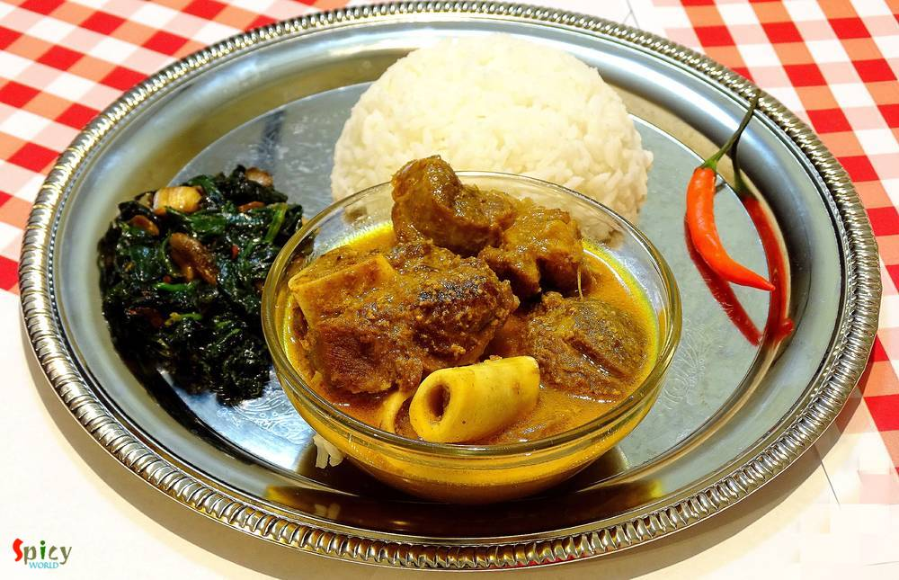 Vegetarian Mutton Curry / Niramish Mangshor Jhol
